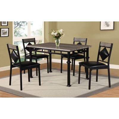Defalco 5 Piece Dining Set