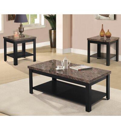 Dearmond 3 Piece Coffee Table Set