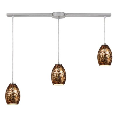 Vincent  3-Light Kitchen Island Pendant