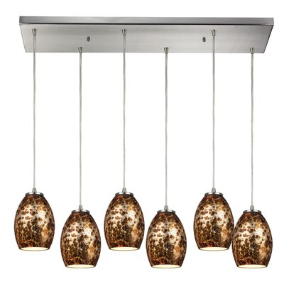 Vincent 6-Light Kitchen Island Pendant