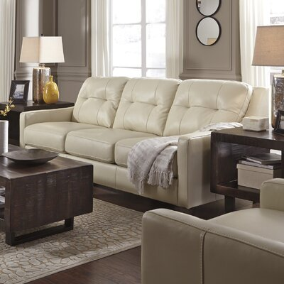 Red Barrel Studio RDBS8265 Stouffer Leather Sofa Sleeper