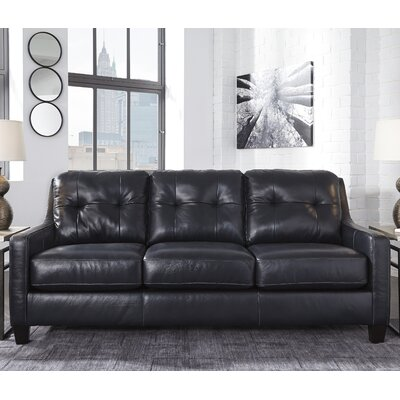 Red Barrel Studio RDBS8270 Stouffer Leather Sleeper Sofa