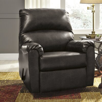 Wiley Rocker Recliner Upholstery: Burgundy