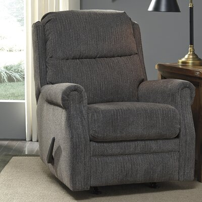 Seten Rocker Recliner Upholstery: Flannel
