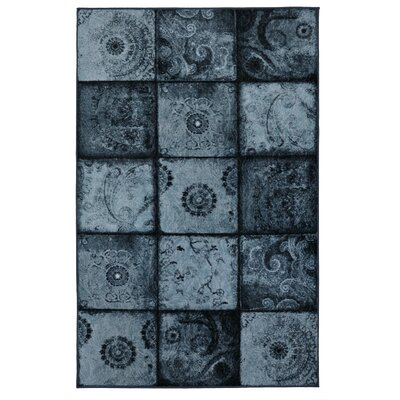Vester Artifact Blue Area Rug Rug Size: 5 x 8