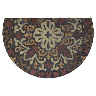 Madson Estate French Medallion Red Doormat