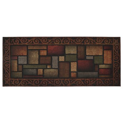 Madson Manor Paisley Spice Doormat