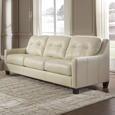 Red Barrel Studio RDBS8357 Stouffer Leather Sofa
