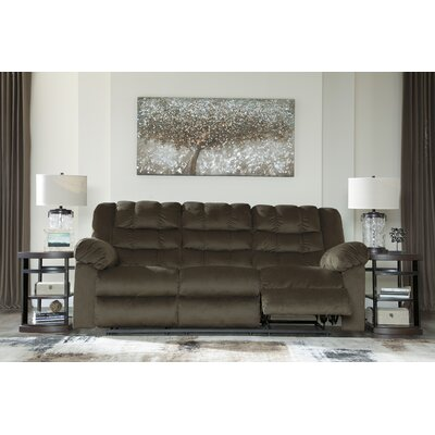 Starr Reclining Sofa Finish: Umber