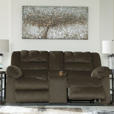 Starr Reclining Sofa Finish: Charcoal