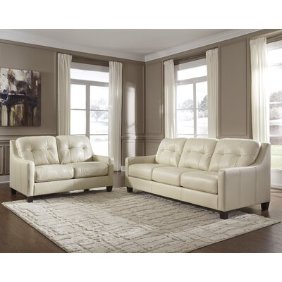 Red Barrel Studio RDBS8358 Stouffer Leather Loveseat