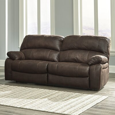 Ruskin Reclining Sofa Type: Manual