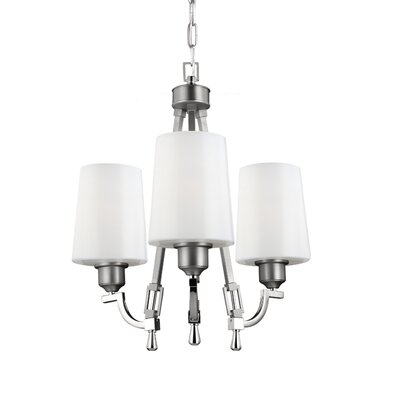 Willard 3-Light Shaded Chandelier