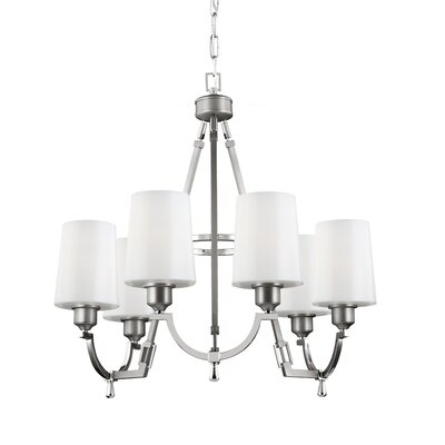 Willard 6-Light Shaded Chandelier