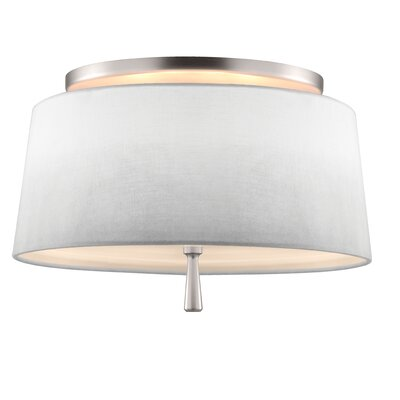 Daley 3-Light Semi-Flush Mount