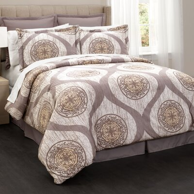 Barium 6 Piece Comforter Set Size: Queen
