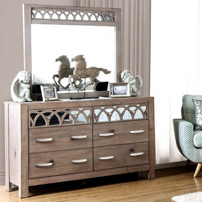 Weymouth 6 Drawer Dresser with Mirror