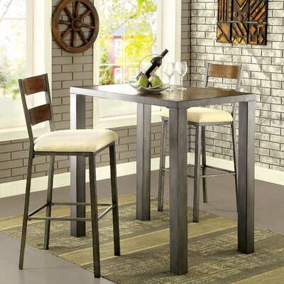 Thurman 3 Piece Pub Table Set