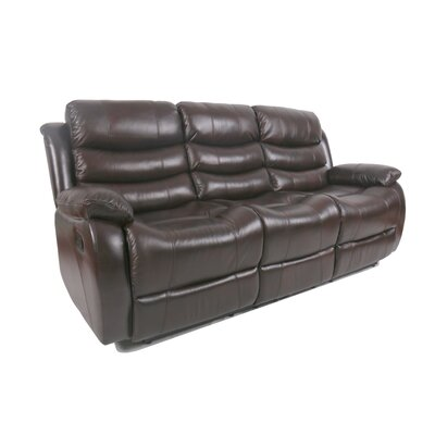 Lindsay Leather Reclining Sofa