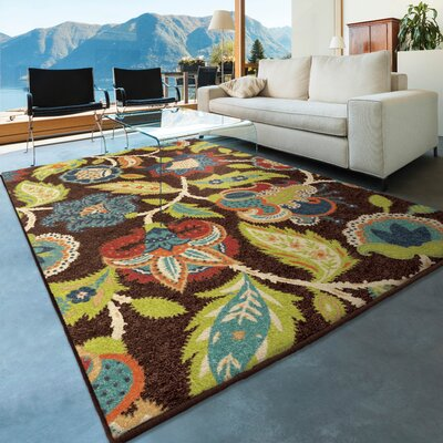 America Brown Area Rug
