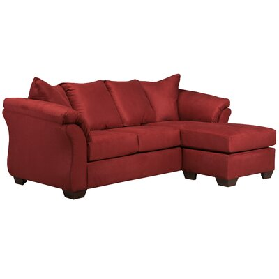 Lavery Sectional Upholstery: Salsa