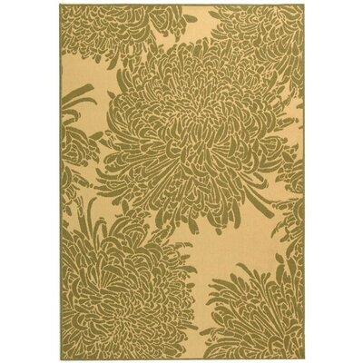 Barhill Natural/Olive Indoor/Outdoor Area Rug