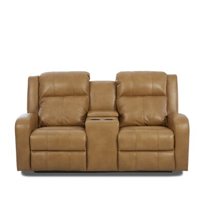 Acorn Oaks Reclining Sofa with Headrest and Lumbar Support Upholstery: VEROCHES