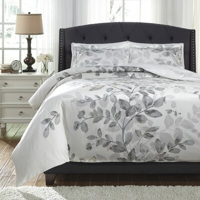 Barryknoll 3 Piece Duvet Cover Set Size: King