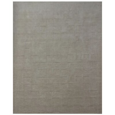 Beachampton Hand-Loomed Gray Area Rug Rug Size: 5 x 8