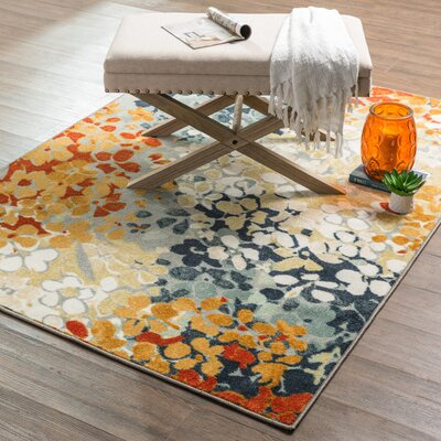 Barton Radiance Printed Area Rug Rug Size: Rectangle 5 x 7
