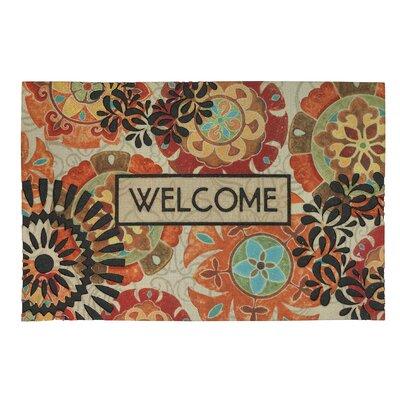 Brookville Eastern Suzani Welcome Doormat