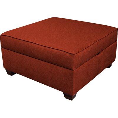 Attica Modular Storage Ottoman Upholstery Color: Brick