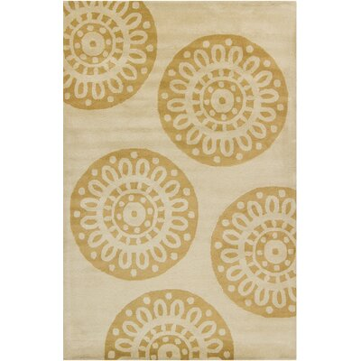 Willow Hand Tufted Wool Gold/Tan Area Rug