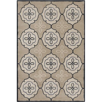 Willow Hand Tufted Wool Tan/Cream Area Rug