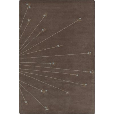 Willow Hand Tufted Wool Brown/Cream Area Rug