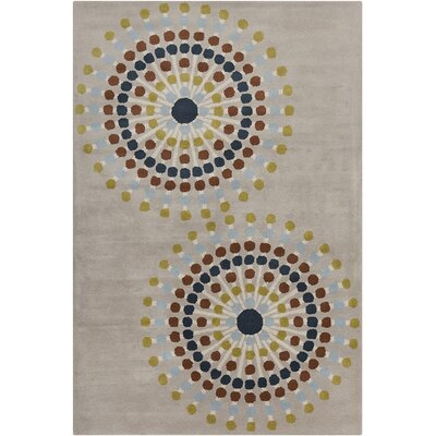 Willow Hand Tufted Wool Warm Grey Area Rug