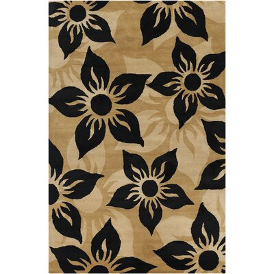 Willow Hand Tufted Wool Brown/Black Area Rug