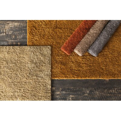 Lettie Brown Area Rug Rug Size: 79 x 106