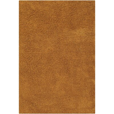 Lettie Orange Area Rug Rug Size: Rectangle 79 x 106