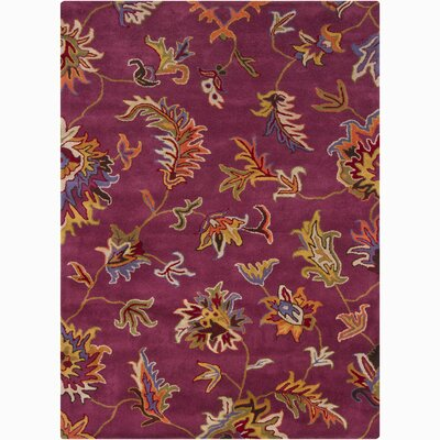 Jonas Purple Area Rug Rug Size: Rectangle 5 x 76