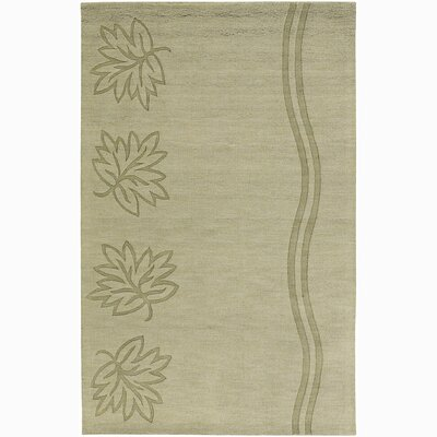 Chloe Leaves & Waves Rug Rug Size: 2 x 3