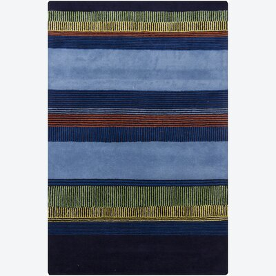 Medford Stripes Area Rug Rug Size: 79 x 106
