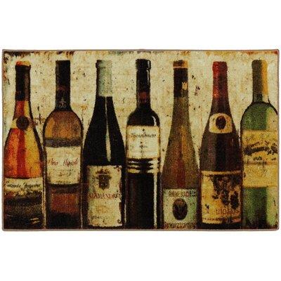 Ayers Village Wine Row Mat Rug Size: 18 x 26
