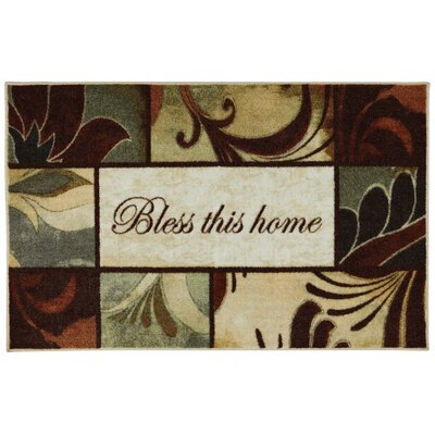Ayers Village Rules to Live By Kaleidoscope Mat Rug Size: 18 x 26