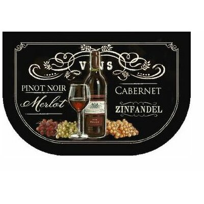 Ayers Village Chalkboard Sign Printed Mat Rug Size: 18 x 26