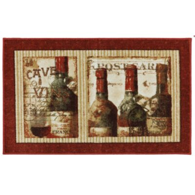 Ayers Village French Cellar Printed Mat Mat Size: 26 x 4