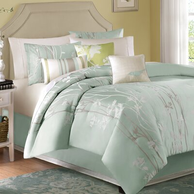 Coeymans 7 Piece Comforter Set Size: King