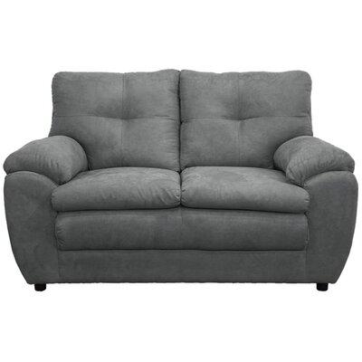 Beneduce Loveseat Upholstery: Bulldozer Graphite