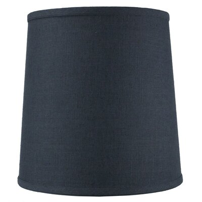 12 Fabric Drum Lamp Shade Color: Slate Blue
