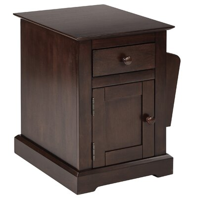 Arlen End Table With Storage